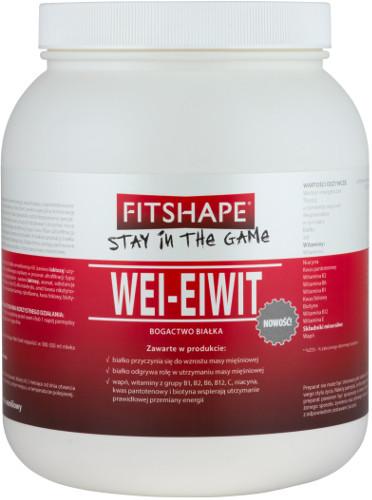 Fitshape Wei-Eiwit Białko 70%, 2000g