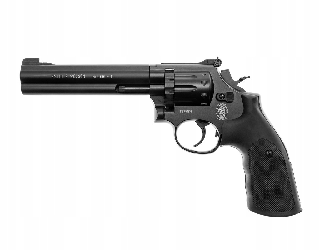 Wiatrówka rewolwer Smith&Wesson Mod. 686 6''