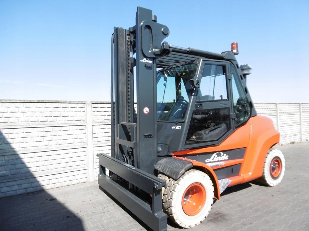 Wózek widłowy Linde H80D-02/900 Przesuw 2014 rok