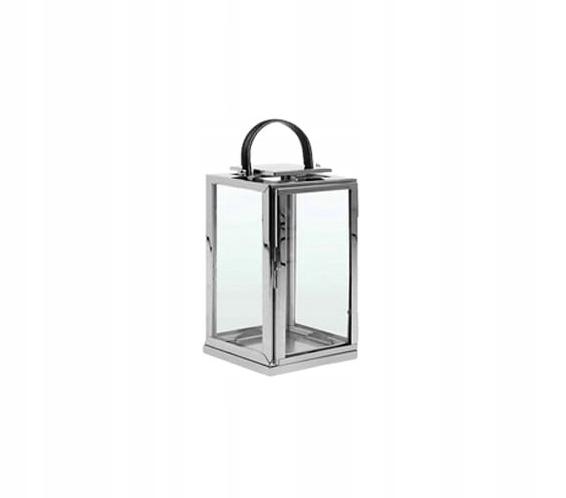 latarnie lampiony latarenki srebrne 1 bez szyb bs