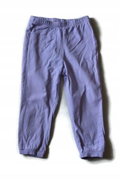 W124*H&M* Spodnie od piżamy bawełna fiolet 92