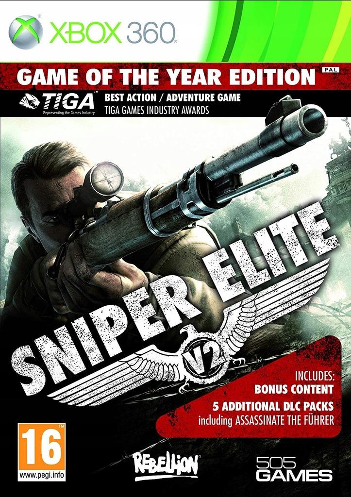 Sniper Elite V2 Goty Xbox 360 Game Of The Year 8374671712 Oficjalne Archiwum Allegro