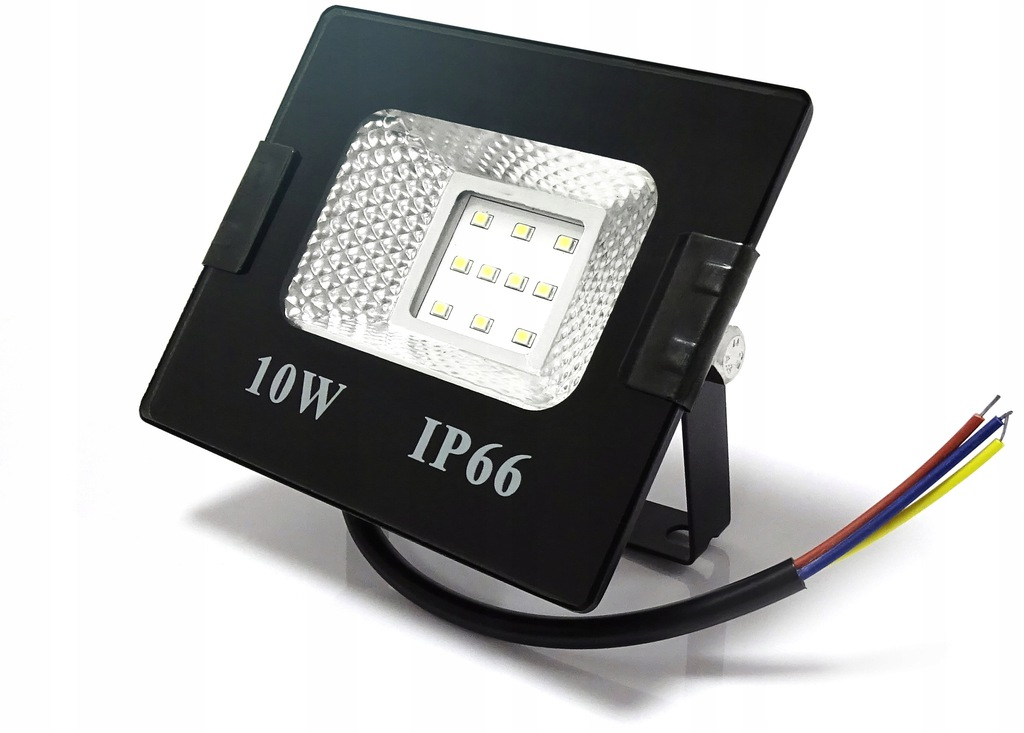OUTLET NAŚWIETLACZ LED HALOGEN LAMPA 10W=100W SLIM
