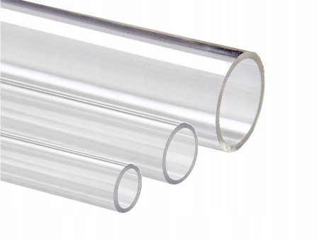 Rura z pleksi, plexi, rury PMMA, 100 mm/2, 50 cm