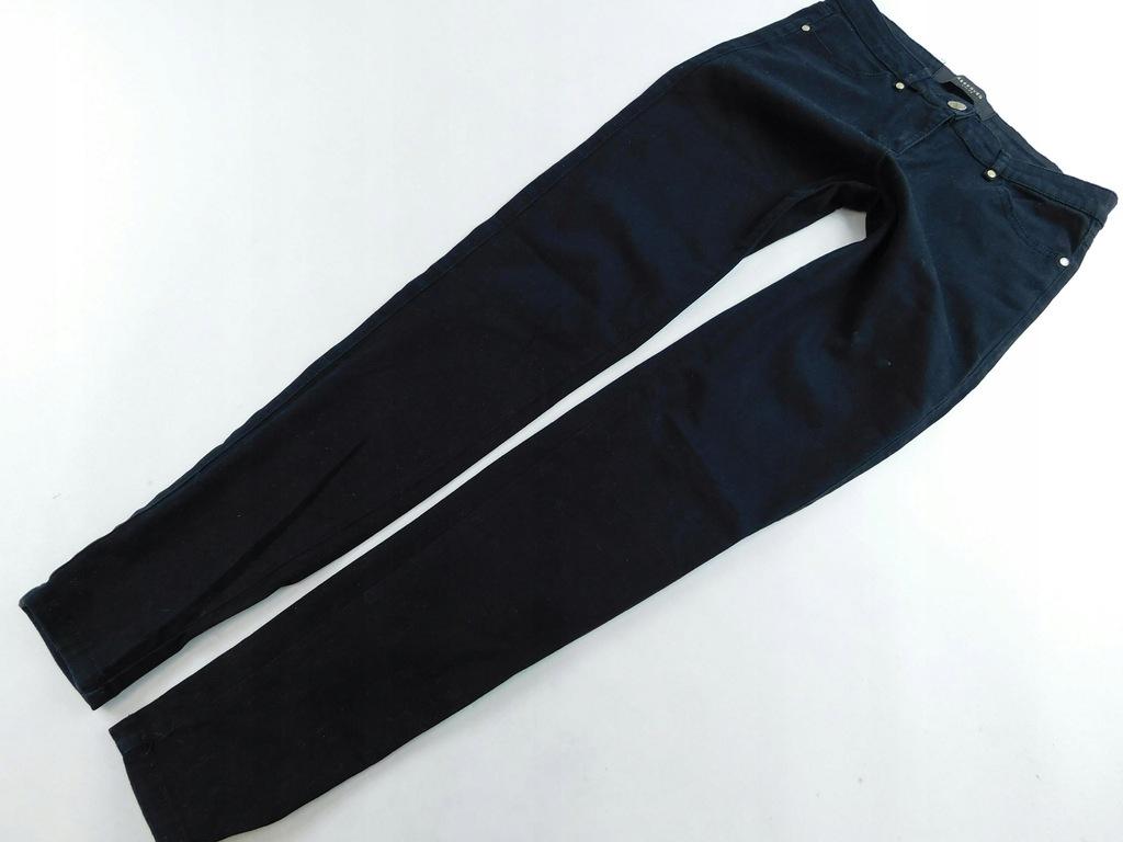 0802d124 RESERVED spodnie RURKI jeansowe 34