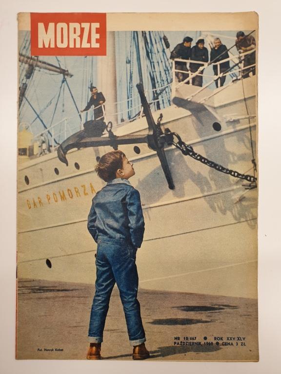Morze – miesięcznik marynistyczny nr 10/1969