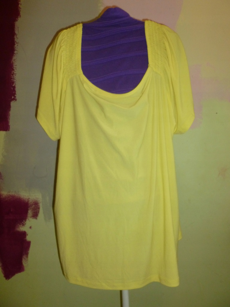 BCB bluzka poliester żółta 52/54