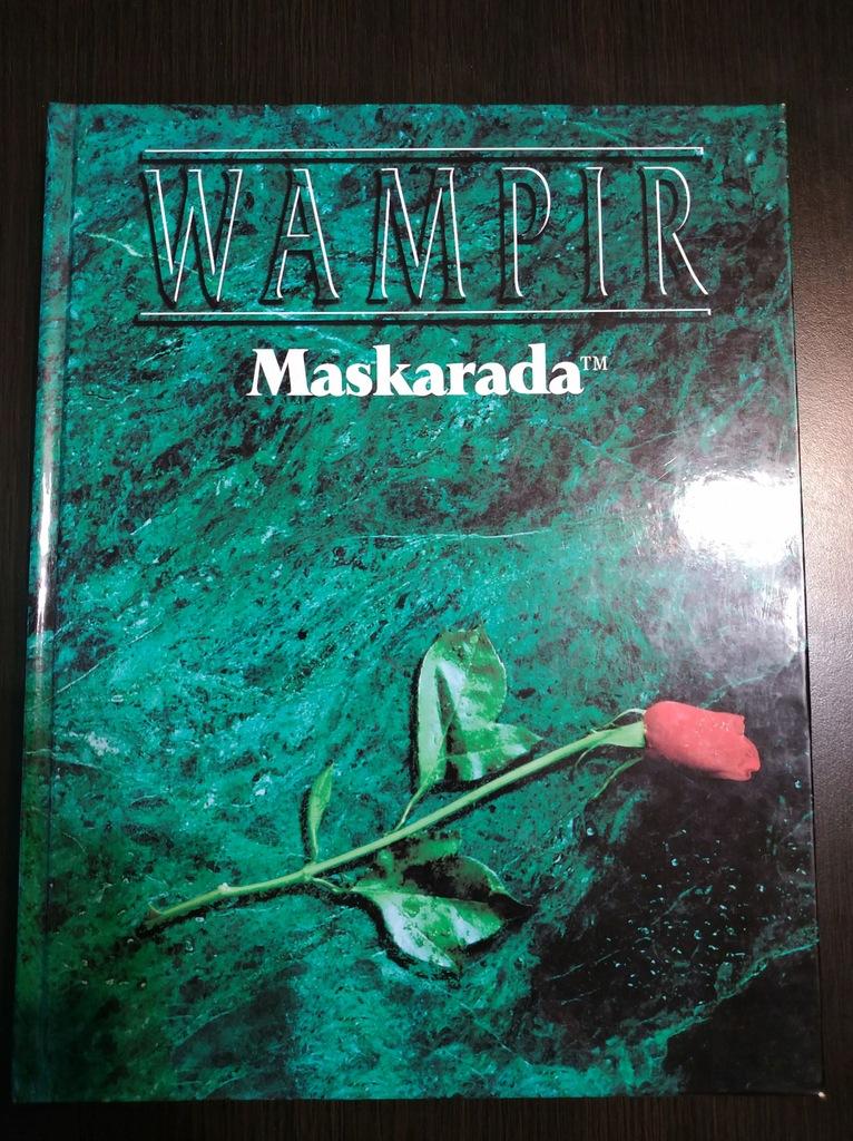 Wampir: Maskarada 2 ed. PL VG + 6 dodatków PL/ANG