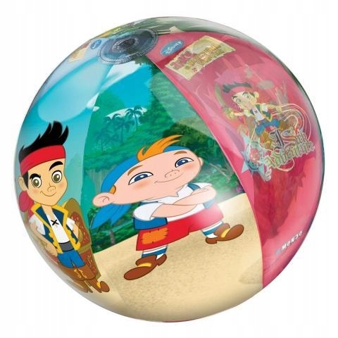 Disney Piłka plażowa Jake i Piraci 50 cm