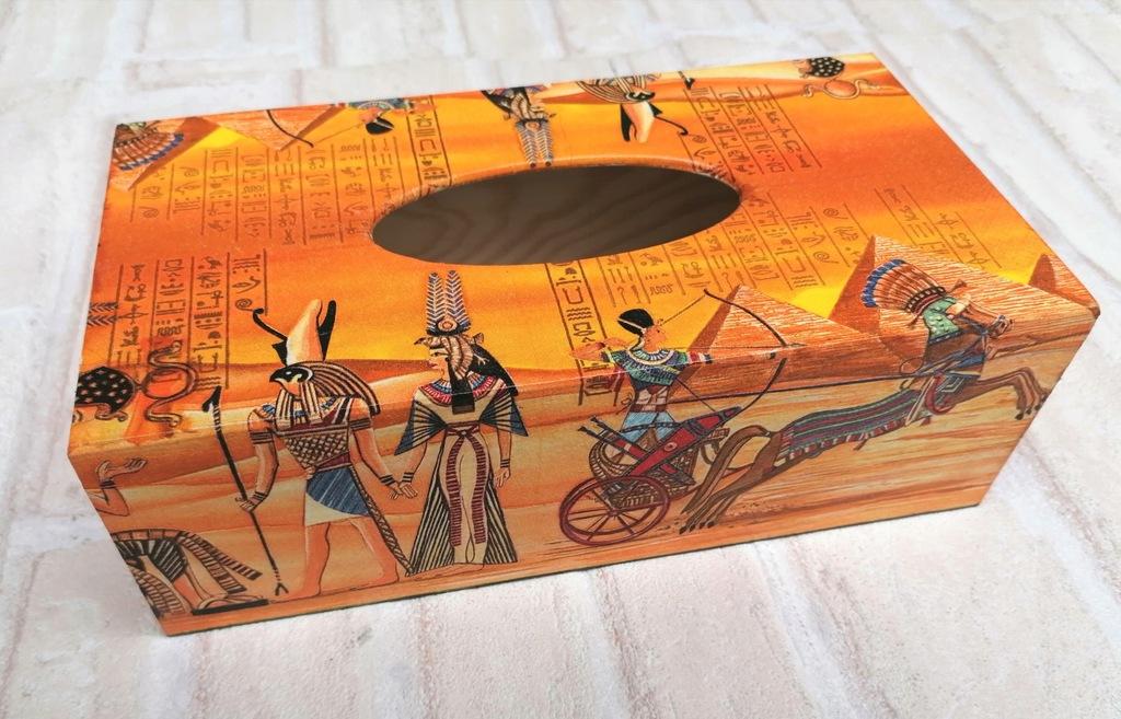 Chustecznik pojemnik chusteczki Afryka Egipt