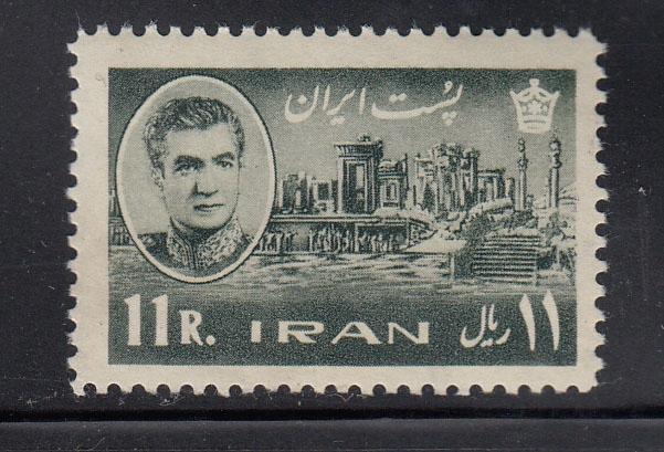 IRAN MI 1136 FARS czyste z 1962
