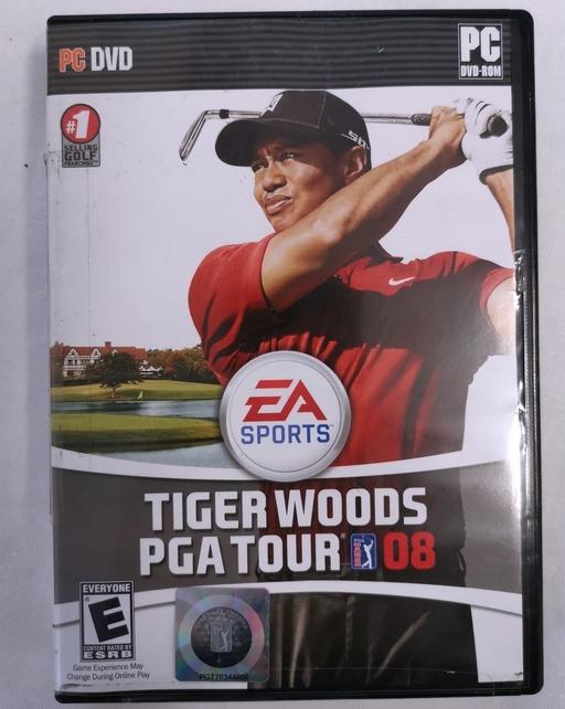 TIGER WOODS PGA TOUR 08 gra komputerowa PC golf
