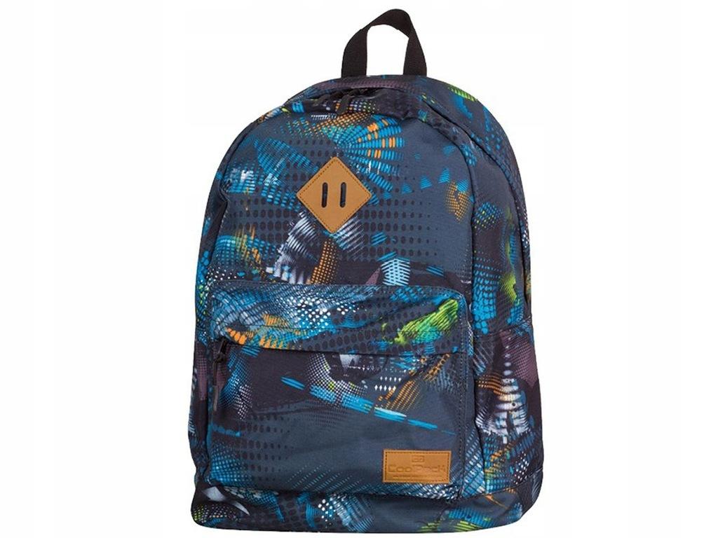 Granatowy plecak męski liceum do szkoły pakowny CP