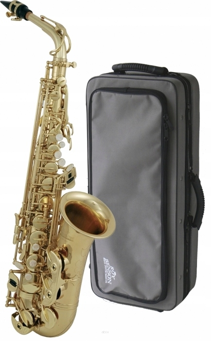 Saksofon altowy Roy-Benson AS-302 +FUTERAŁ +USTNIK
