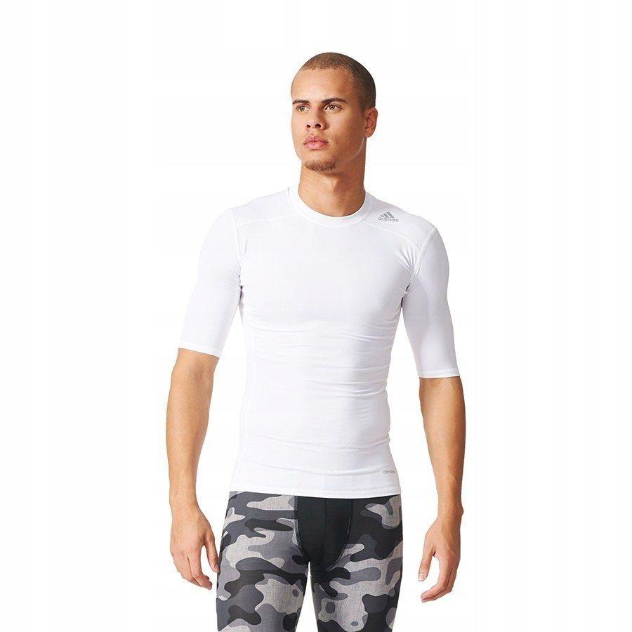 Koszulka Męska Piłkarska adidas kompresyjna L