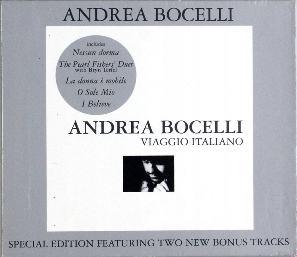 (CD) Andrea Bocelli - Viaggio Italiano (UK)