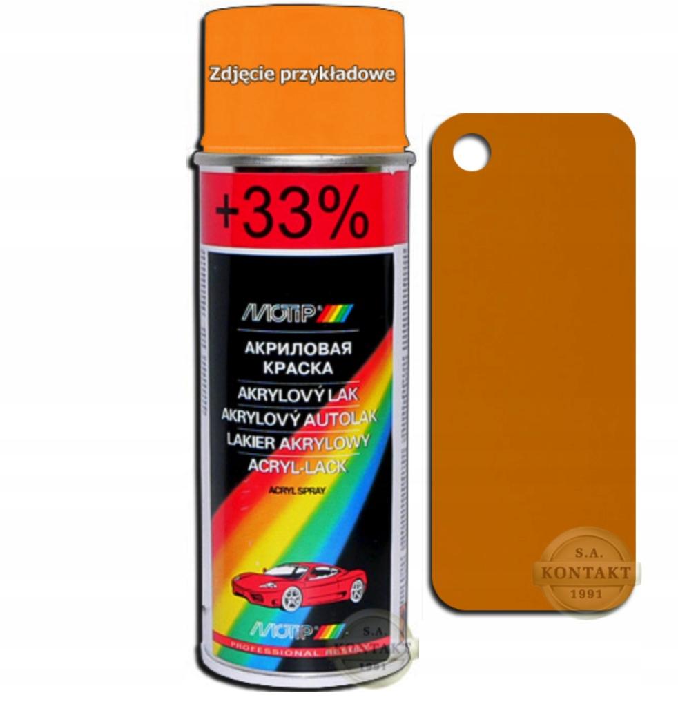 Lakier akrylowy 200C orzechowy MOTIP 200ml
