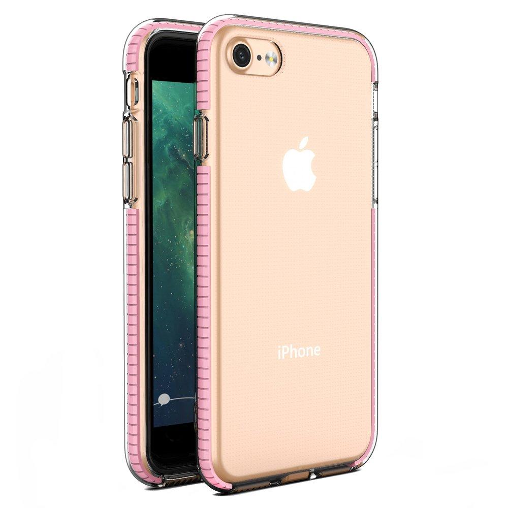 Etui do iPhone SE 2020 / 8 / 7 SPRING CASE + SZKŁO