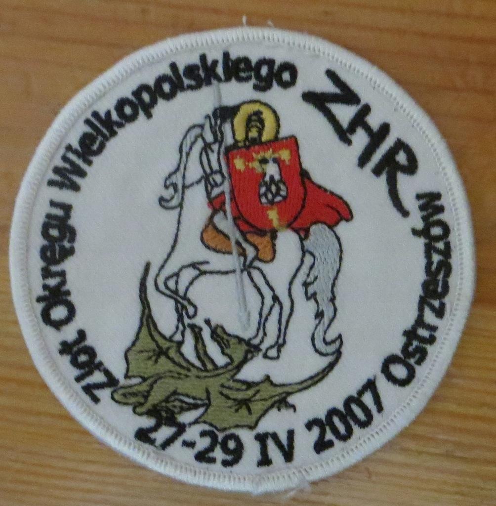 Plakietka harcerska ze ZLOTU ZHR