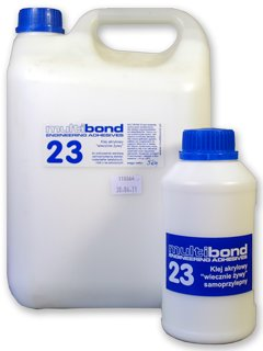 Klej do PCV 5 kg , etykiet, polistyrenu MB23