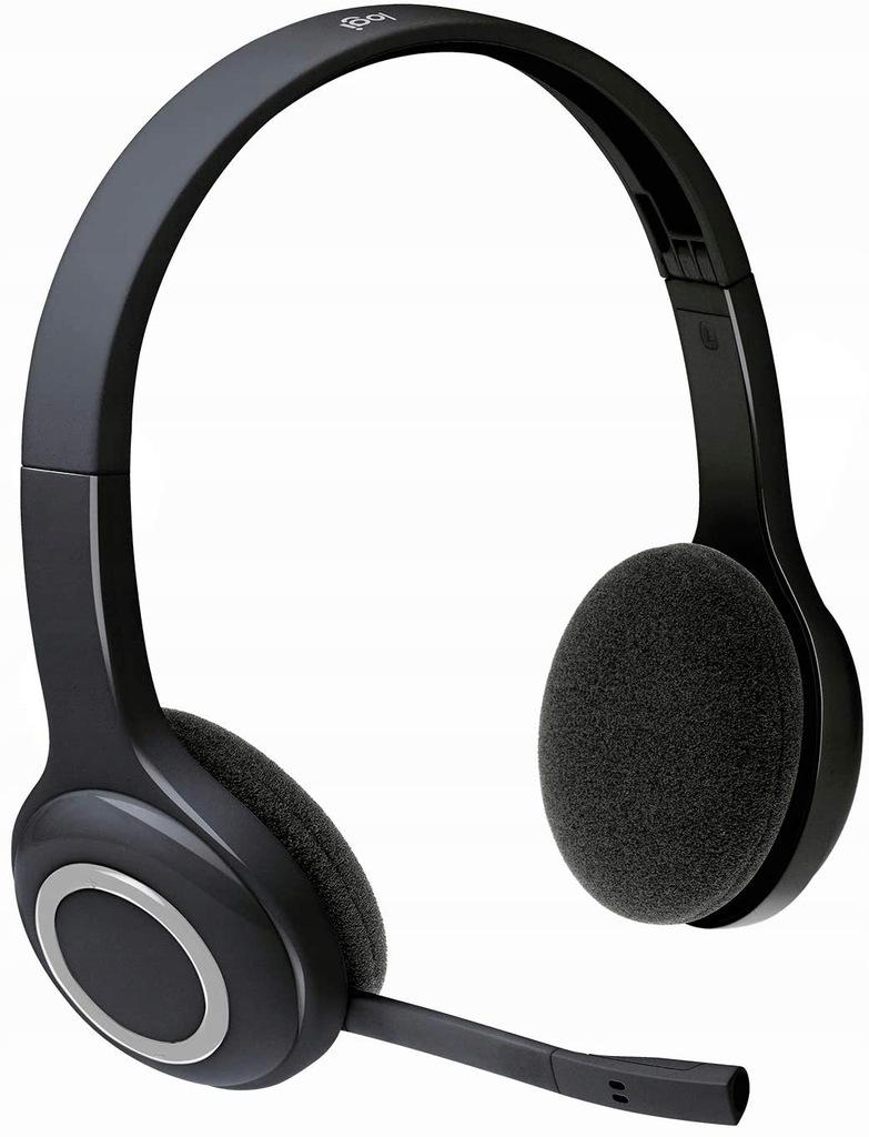 Słuchawki bezprzewodowe z mikrofonem Logitech H600