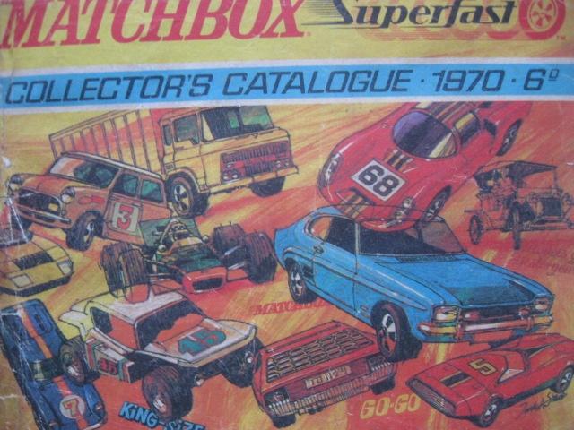 MATCHBOX Superfast Catalogue Cennik Katalog 1970