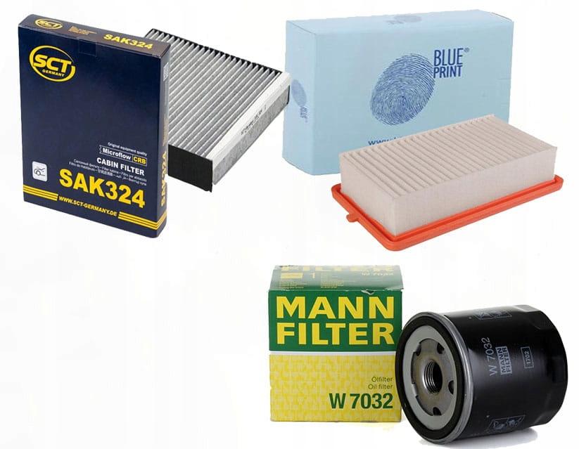 Zestaw filtrów Nissan Micra( K14) 1.5dci