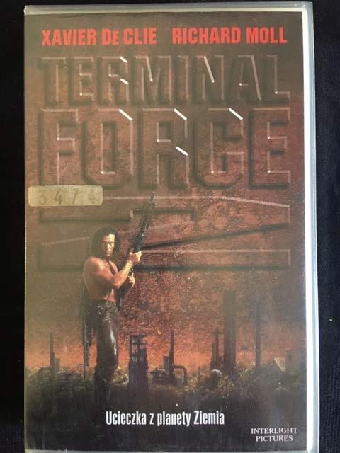 TERMINAL FORCE 2 1998 VHS UNIKAT