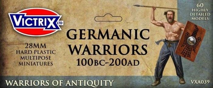 Germanic Warriors - Germanie 60 szt.