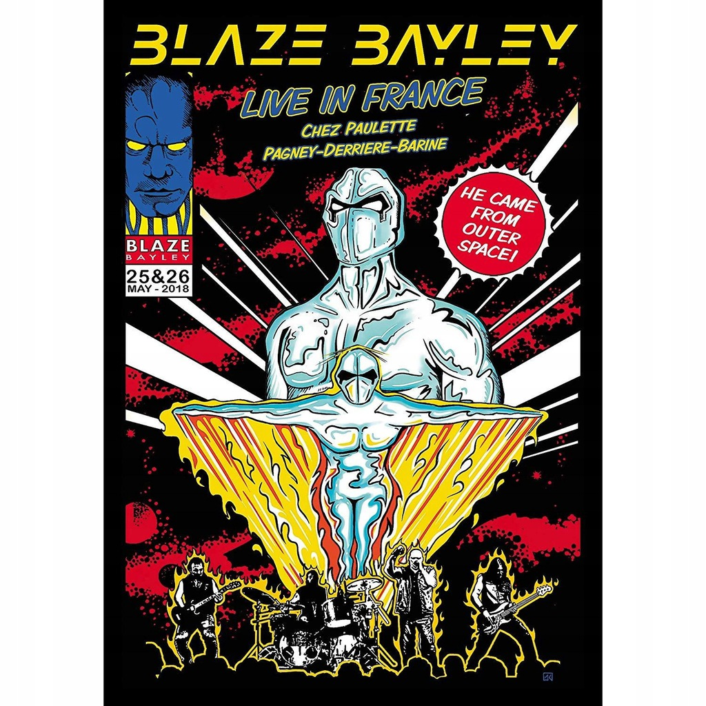 Live In France, 2 DVD - Blaze Bayley