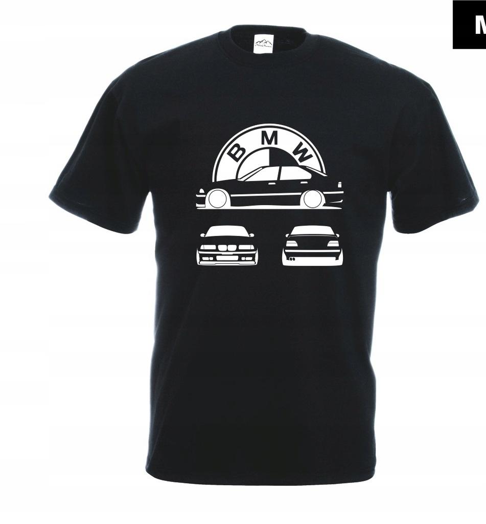 Koszulka z nadrukiem BMW UNIKAT rozm.L MT307