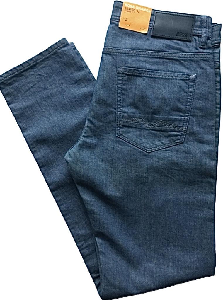 HUGO BOSS ORANGE spodnie jeansy W33 L34