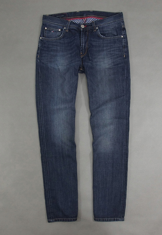 TOMMY HILFIGER MADISON - STRAIGHT JEANSY - 33/32