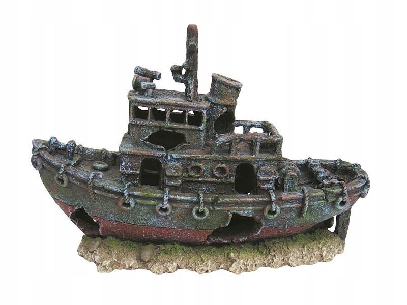 Ozdoba akwariowa statek wrak 30,5 cm