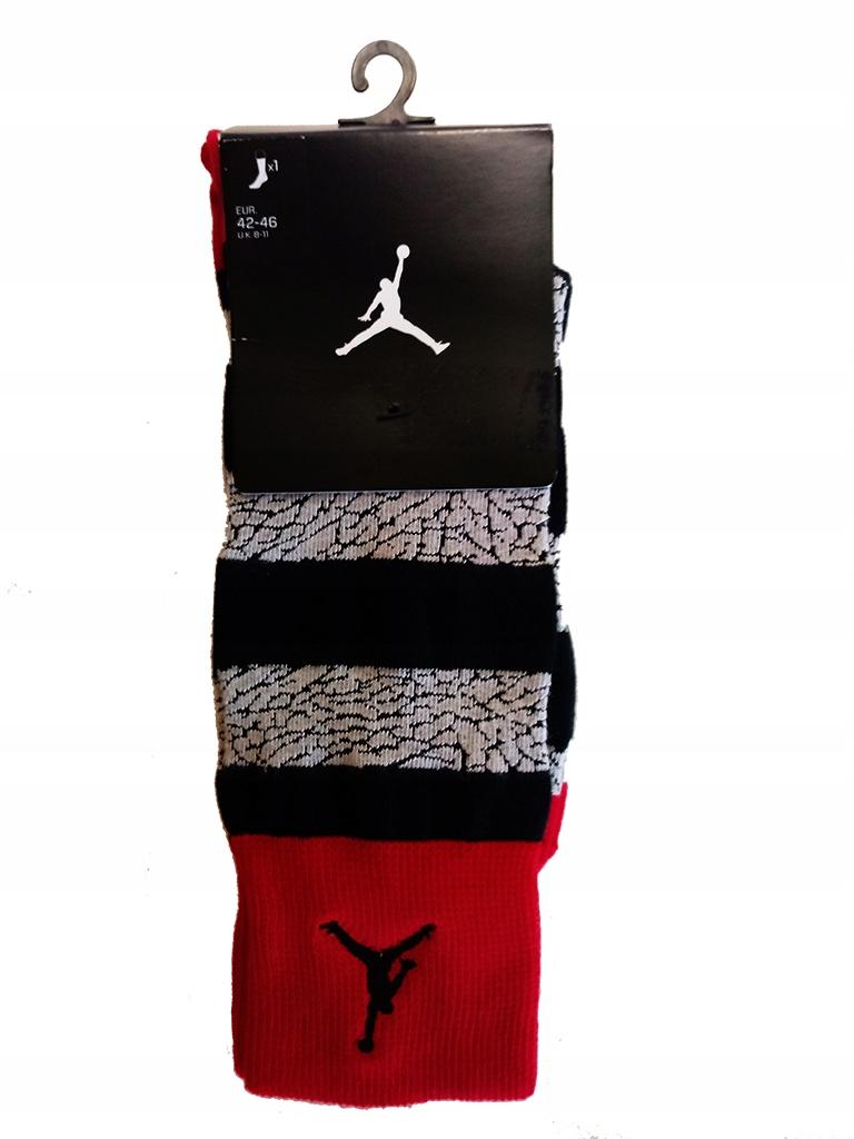 Skarpetki Nike Jordan rozmiar 42-46