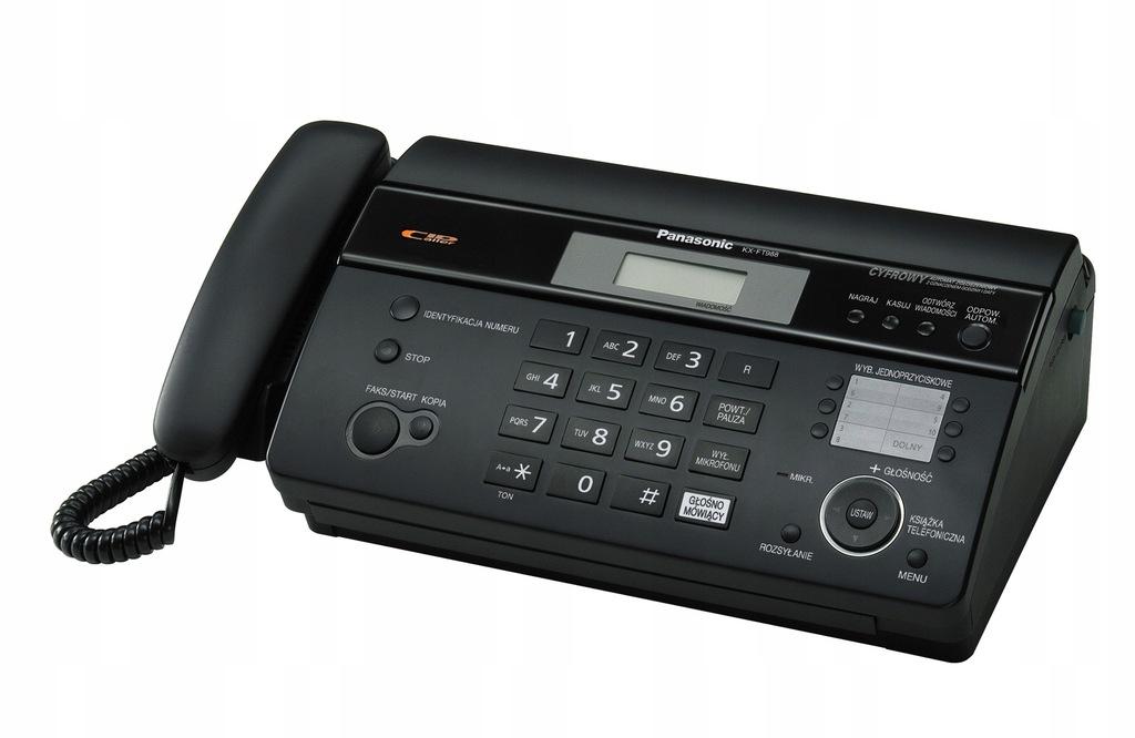 Panasonic KX-FT988 PD-B - FAKS
