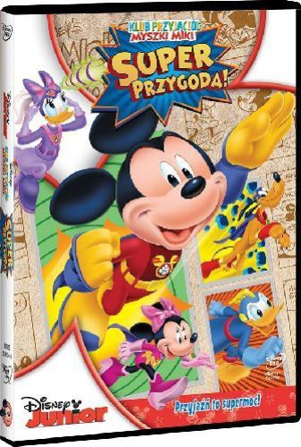 Klub Przyjaciół Myszki Miki: Super Przygoda [DVD]