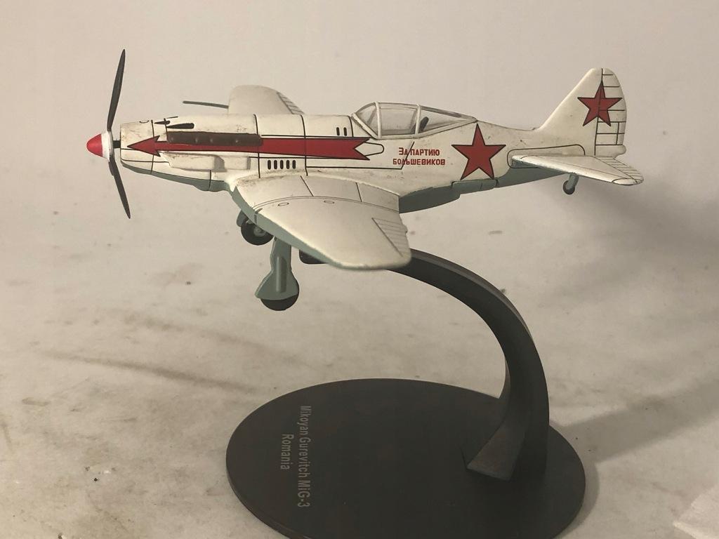 Samolot II wojny Mikojan Mig 3 skala 1:72 nr 10b