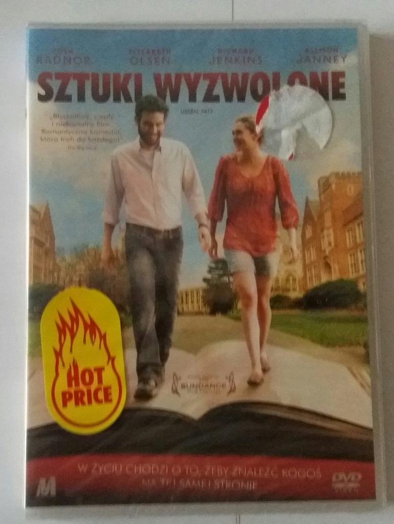 """,,Sztuki wyzwolone""""- film na DVD"""