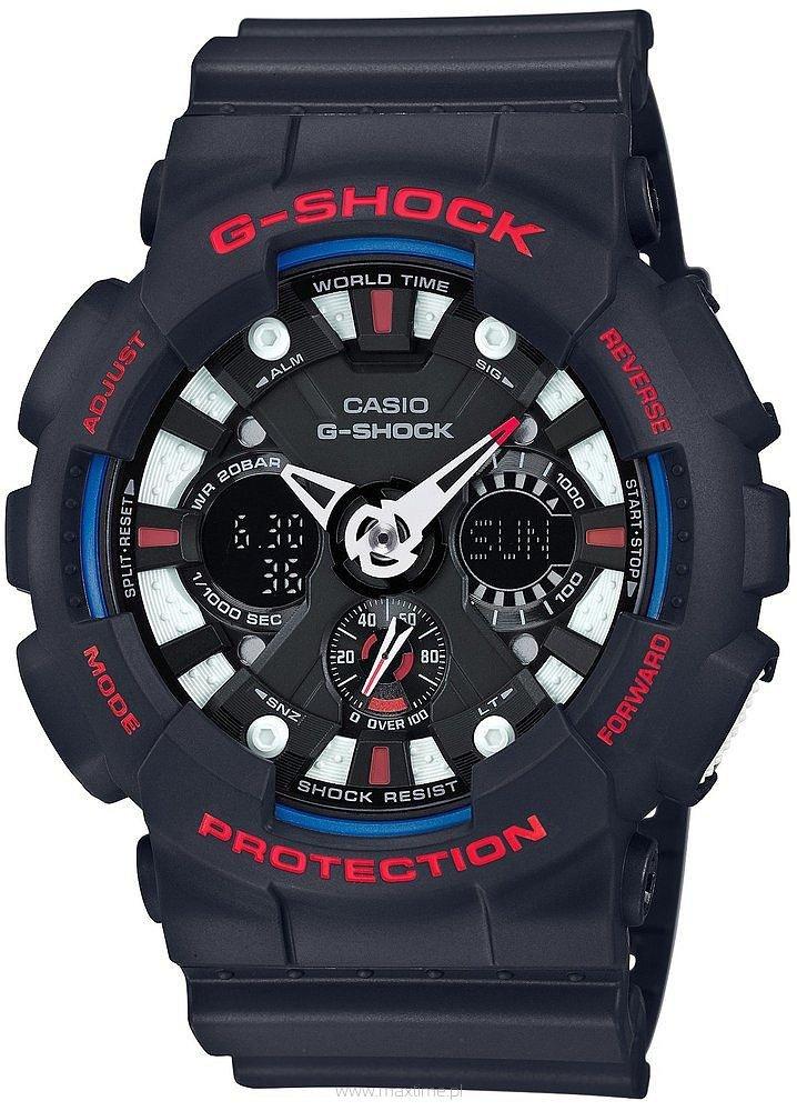Zegarek Casio GA-120TR-1AER G-SHOCK + DEDYKACJA