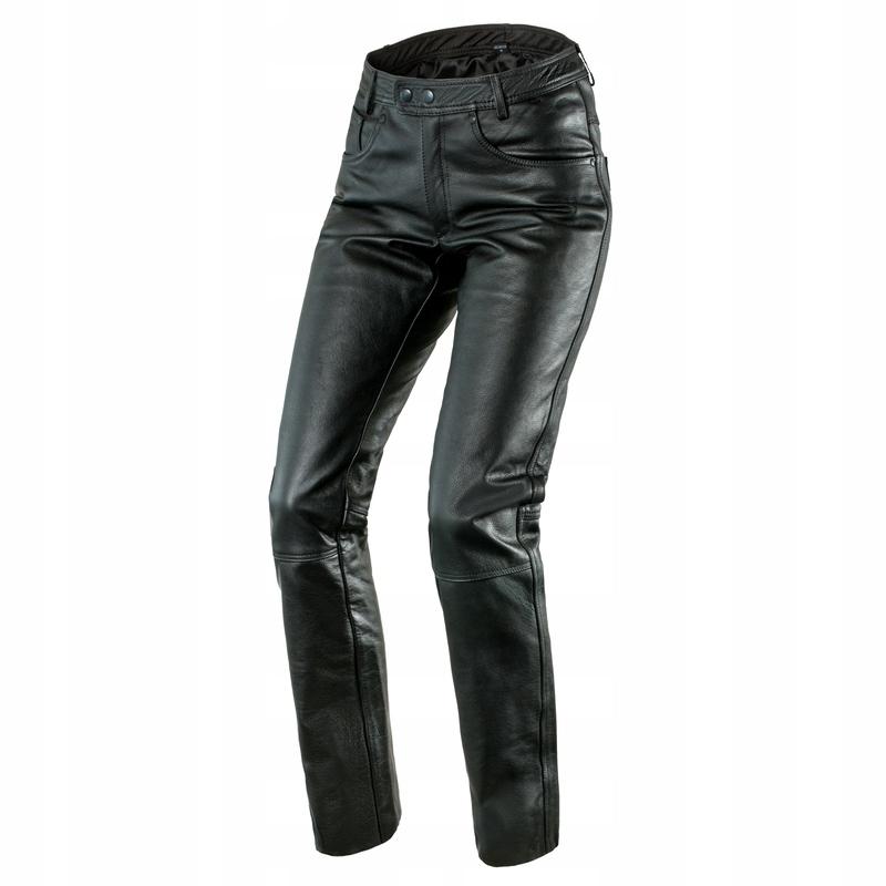 Spodnie Skórzane OZONE DAFT Black XL | GWARANCJA