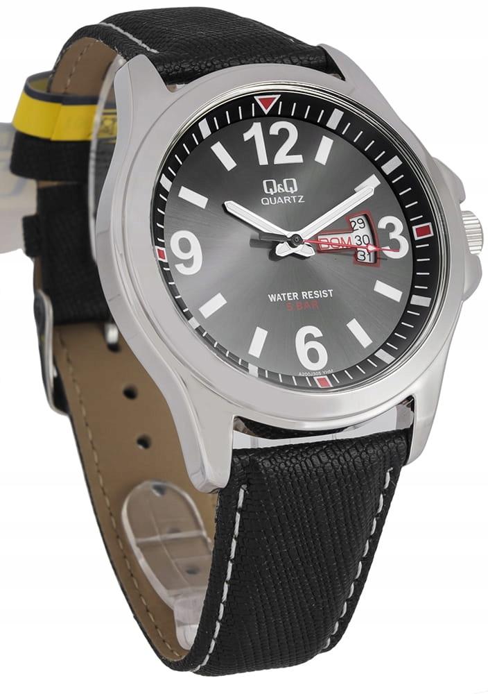 Męski Zegarek Q&Q - A200-305 2lata GW