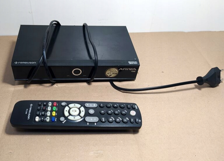 DEKODER FERGUSON ARIVA T65 DVB-T MPEG4 STB