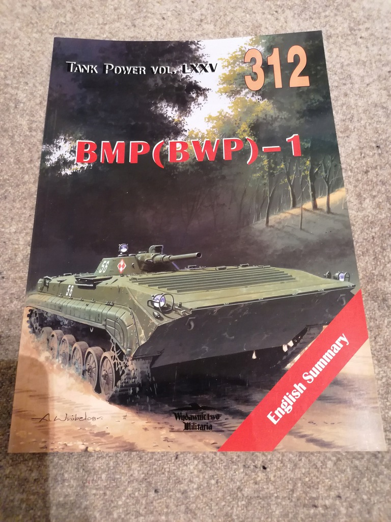 BMP (BWP) - 1 WYDAWNICTWO MILITARIA 312