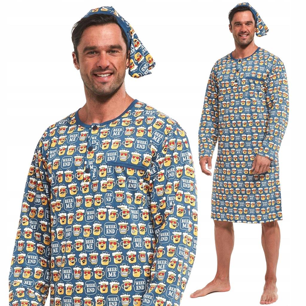 643301 110 Cornette koszula męska nocna szlafmyca  zimHZ