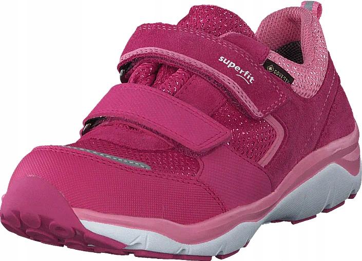Buty sportowe dziewczęce Superfit Sport5 róż 31