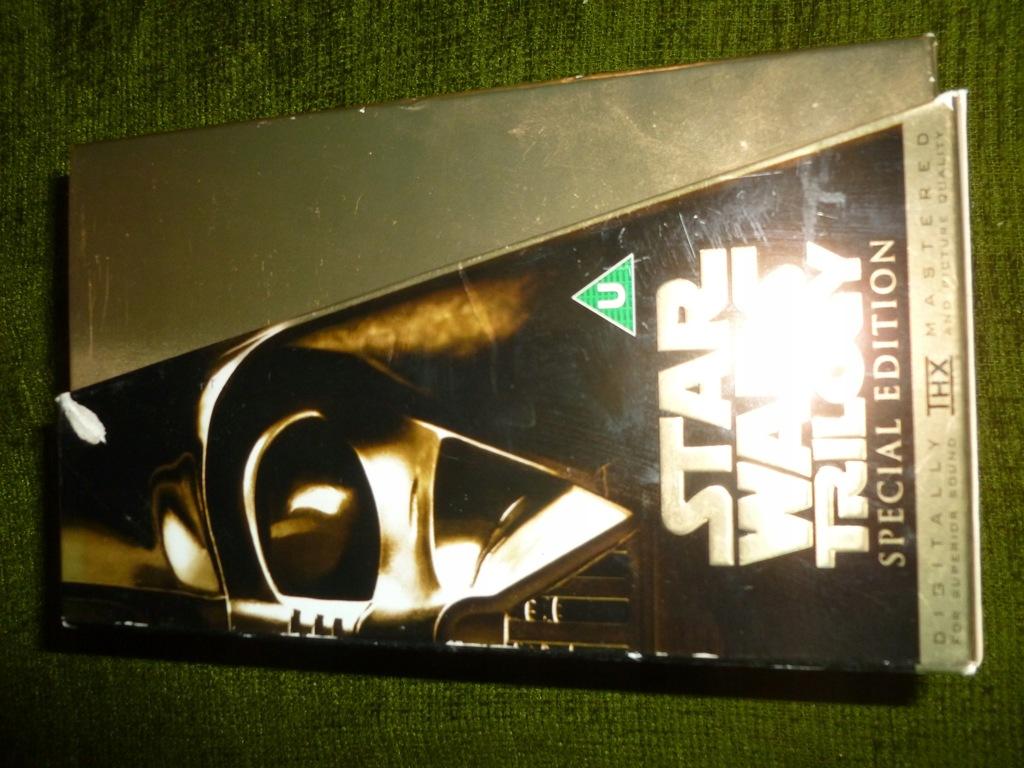 Star Wars Gwiezdne Wojny Edycja specjalna VHS ang.