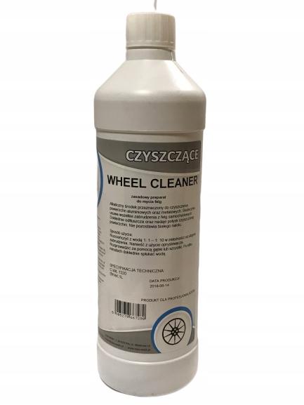 czyszczenie felg felgi Wheel CLEANER zasadowe 1l