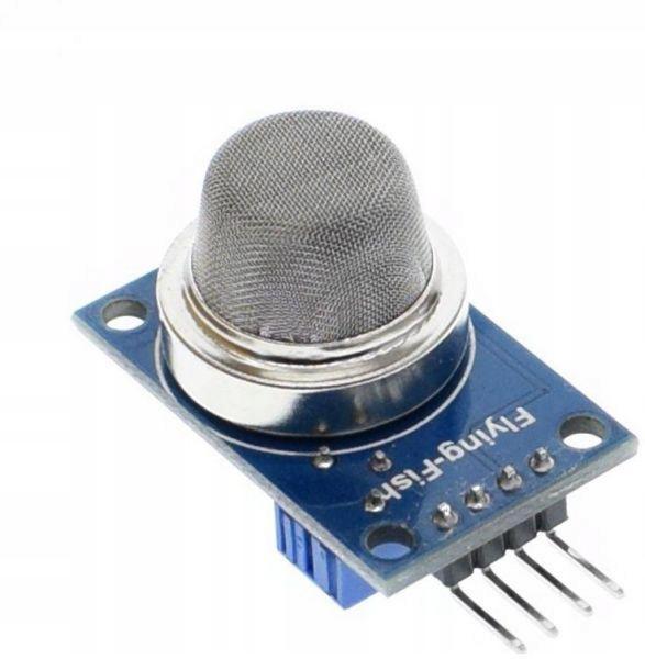 MQ-2 Czujnik dymu i gazów - Arduino
