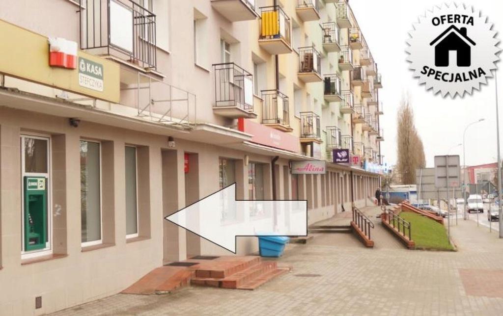 Komercyjne, Łomża, Stare Miasto, 49 m²
